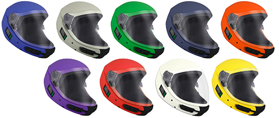 two tone kiss helmet